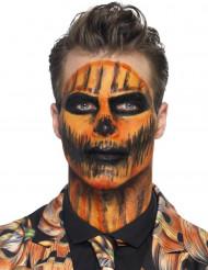 Maquillage latex liquide orange avec éponge 59 ml