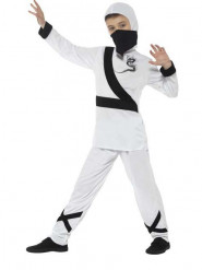 Déguisement ninja blanc garçon