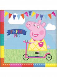 16 Serviettes en papier Peppa Pig ™