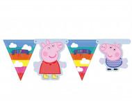 Guirlande fanions Peppa Pig™ 150 cm