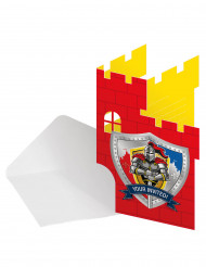 8 Invitations chevaliers