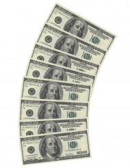 10 Serviettes en papier Dollar
