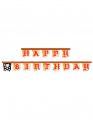 Guirlande Pirate Happy birthday - 2,4 m