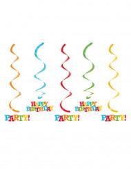 5 Suspensions Happy Birthday