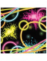 16 serviettes - Glow Party