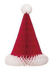 Centre de table Bonnet de Noël 30 cm