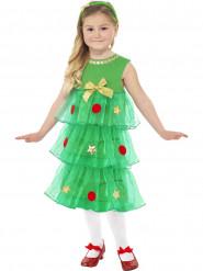 Déguisement robe sapin fille Noël