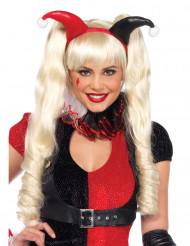 Perruque poupée blonde 3 en 1 femme