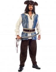 Déguisement pirate brillant homme