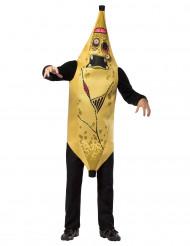 Déguisement banane zombie adulte