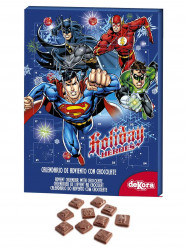 Calendrier de l'avent au chocolat DC Comics™