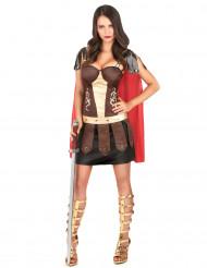 Déguisement de gladiateur romain femme