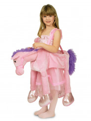 Déguisement monture cheval rose fille