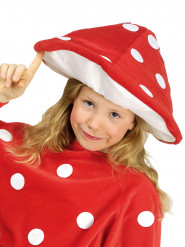 Chapeau champignon amanite tue mouche enfant