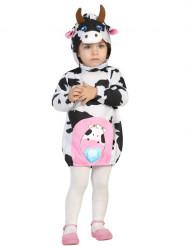 Déguisement robe vache bébé