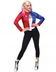 Déguisement Veste et t-shirt intégré adulte Harley Quinn - Suicide Squad™