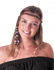 Bandeau hippie peace adulte