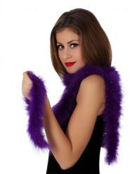 Marabou violet 185 cm