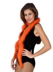 Marabou orange 185 cm