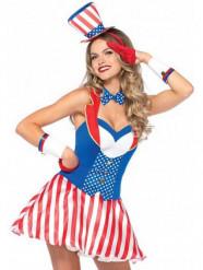 Déguisement américaine sexy femme