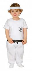 Déguisement maitre ninja blanc bébé