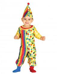 Déguisement combinaison clown bébé