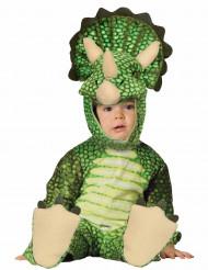 Déguisement triceratops vert bébé