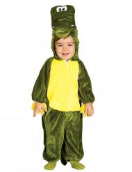Déguisement crocodile vert bébé