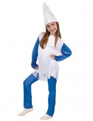 Déguisement petit nain bleu fille