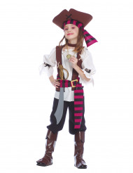 Déguisement pirate des 7 mers fille