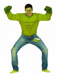 Déguisement monstre vert homme