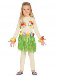 Kit hawaïen vert enfant
