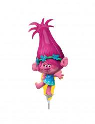 Petit ballon aluminium Poppy Trolls ™ gonflé