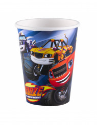 8 Gobelets en carton Blaze et les Monster Machines™ 266 ml