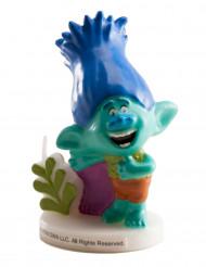 Bougie d'anniversaire Branch Trolls™ 7.5 cm