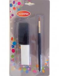 Mini kit accessoires de maquillage