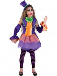 Déguisement princesse du crime violet fille