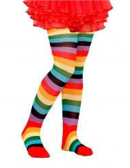 Collants multicolores enfant
