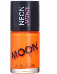Vernis à ongles orange phosphorescent 15 ml Moonglow ©
