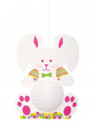 décoration à suspendre lapin de Pâques