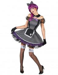 Déguisment poupée gothique femme