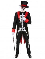 Déguisement squelette chic homme
