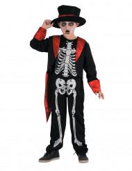 Déguisement squelette chic garçon
