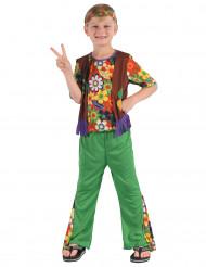 Déguisement hippie flower power garçon