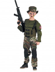 Déguisement soldat Américain musclé garçon