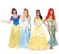 Déguisement de groupe princesses adultes