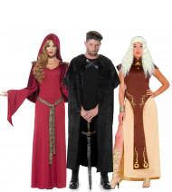 Déguisement de groupe série médiévale adulte