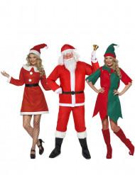 Déguisement de groupe de Noël adulte