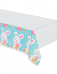 Nappe en plastique lapin de Pâques