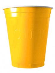 20 Gobelets 53cl jaune